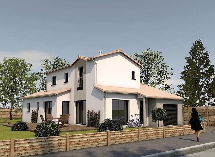 Maison traditionnelle - Domeus constructions