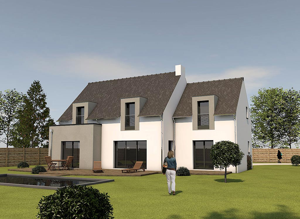 Maisons traditionnelles - Constructions DOMEU